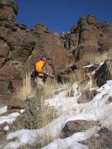 January Chukar Hunting.