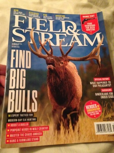 The October 2014 issue of Field & Stream